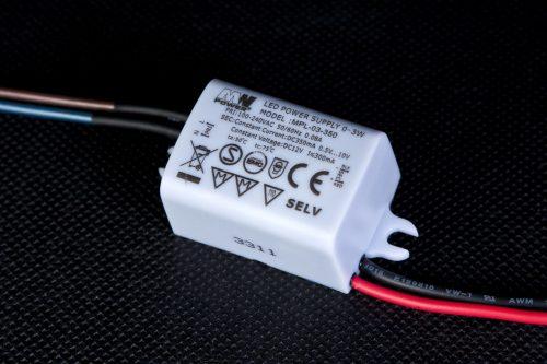 Zasilacz Prądowy 3W 700mA 2.5~4.2V