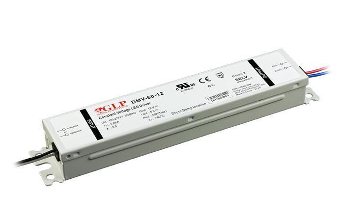 Zasilacz impulsowy 12V/60W/5A IP67 z filtrem PFC