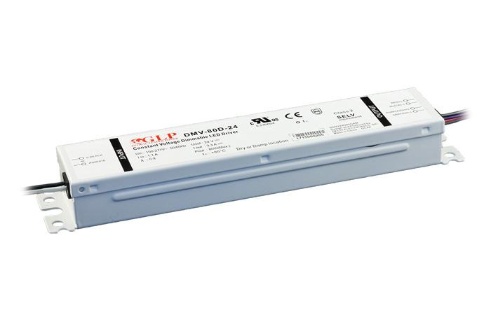 Zasilacz impulsowy 24V/80W/3.3A IP67 z filtrem PFC