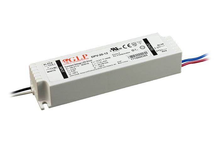 Zasilacz impulsowy 12V/24V/20W/0.85A IP67 z filtrem PFC